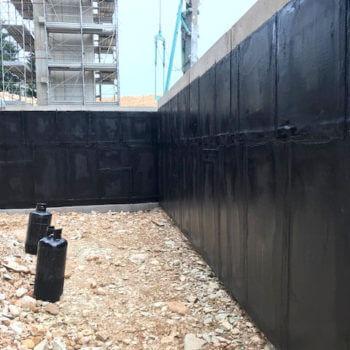 impermeabilizzazione su pareti verticali